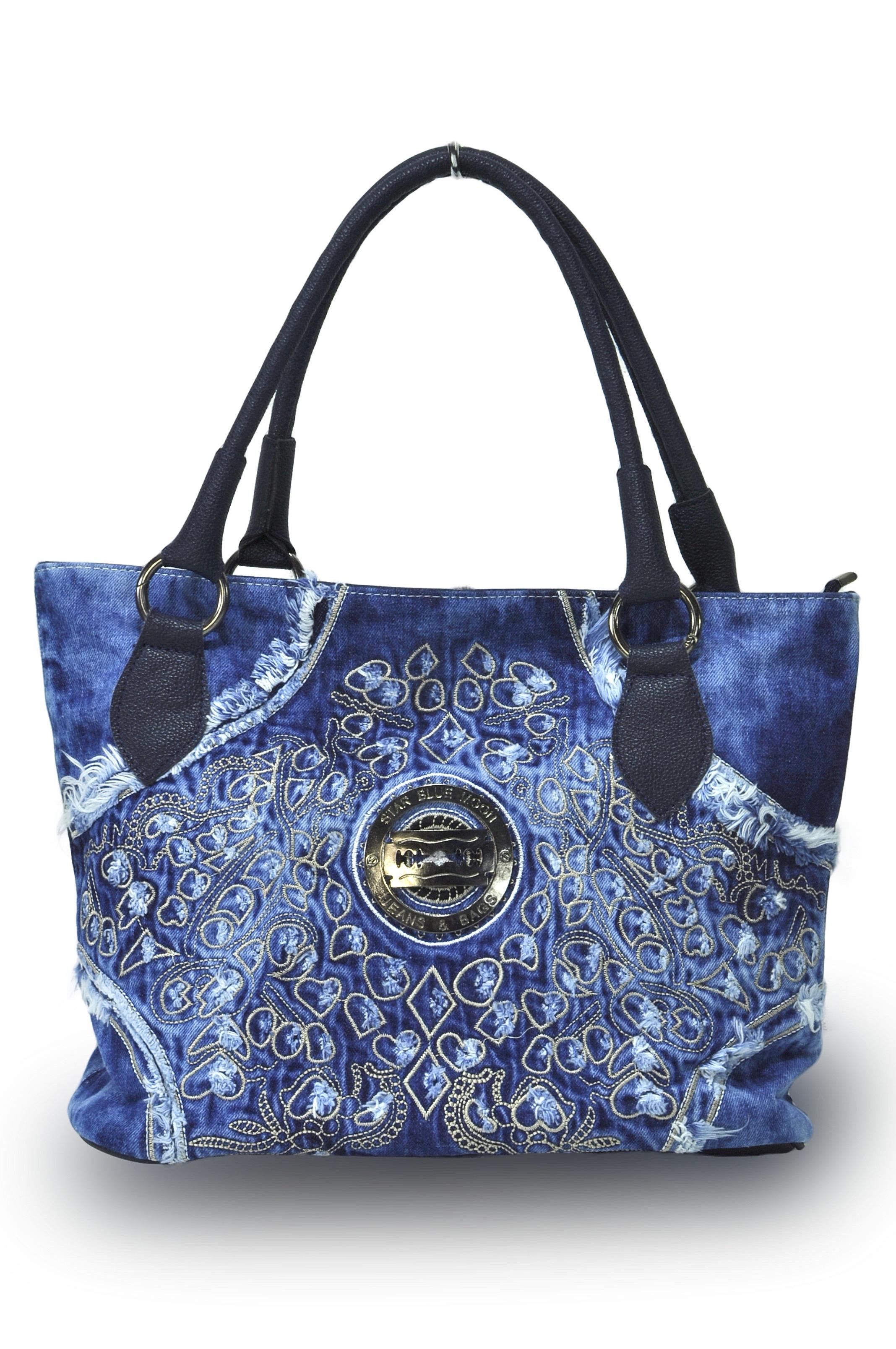10489b6a9d Luxusní riflová kabelka MUENTES